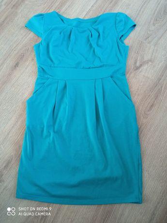 Ciemno zielona sukienka