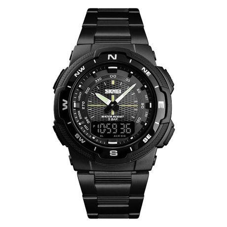 Часы Skmei 1370BOXBKBK Black/Black BOX