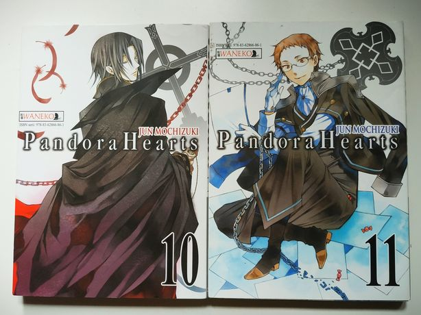 Waneko - Manga Pandora Hearts, tom 10 i 11