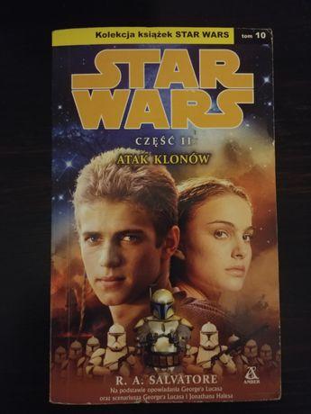 Star Wars tom 10 Atak klonów R.A. Salvatore Amber