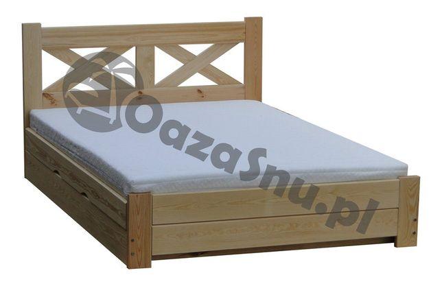 łóżko sypialniane Imperia otwierane ze skrzynią 160x200 wysokie