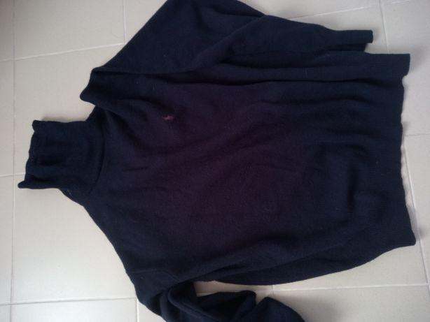 Sweter Ralph Lauren Polo XXL granatowy
