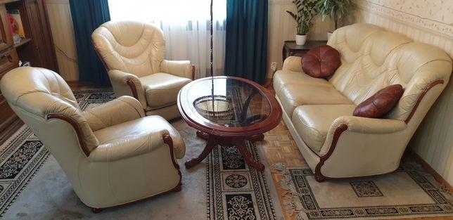 Wypoczynek skórzany mebli włoskich Verona