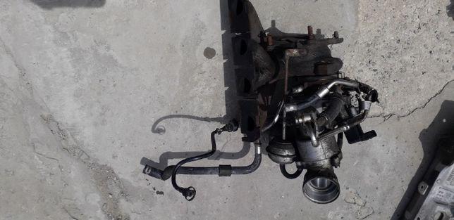 Турбина Volkswagen passat CC 2.0 бензин детали двигателя двигатель кпп