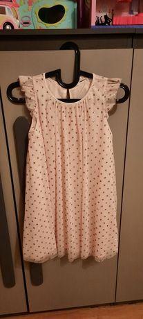Sukienki h&m, 134-140, zestaw okazja, tiul, brokat