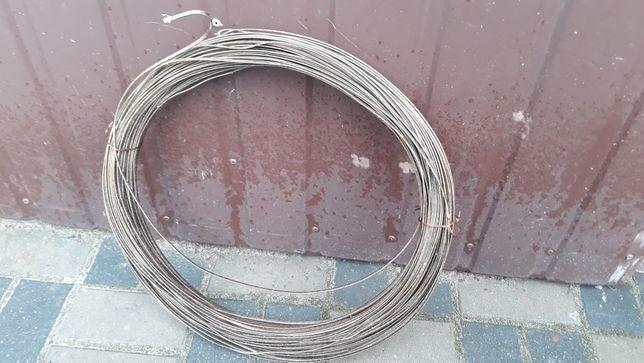 Drut nawojowy miedziany 1 x 4 mm