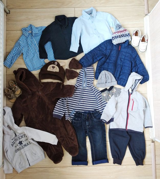 Набор вещей, пакет одежды на мальчика 6-12-18 м один лот Староконстантинов - изображение 1