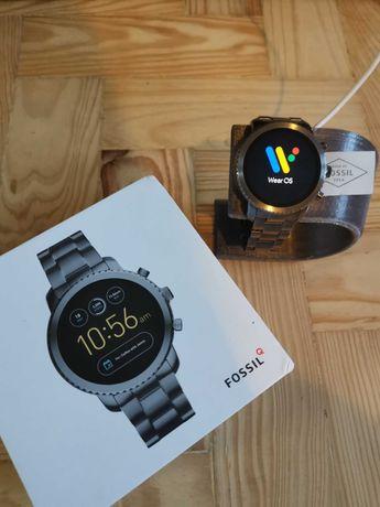 """Relógio Smartwatch Fossil Q Explorist _ ESTADO """"NOVO"""" e ACESSÓRIOS"""