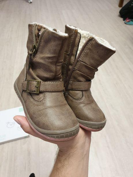 Сапоги ботинки на девочку 22размер девичьи детские