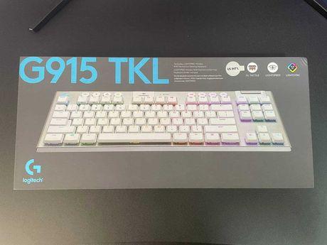 Беспроводная механическая низкопрофильная клавиатура Logitech G915 TKL