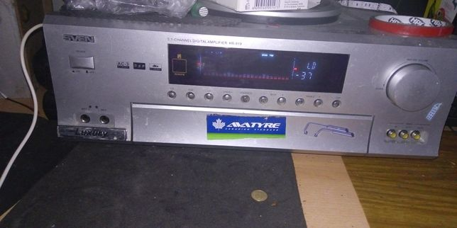 Sven hr-919 5,1 -channel amplifier