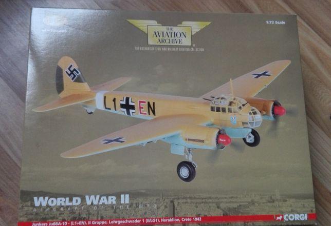 Model Junkers Ju88A-10 CORGI 1:72 samolot