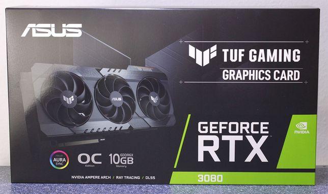 Placa Gráfica Asus GeForce® RTX 3080 TUF GAMING OC 10GB
