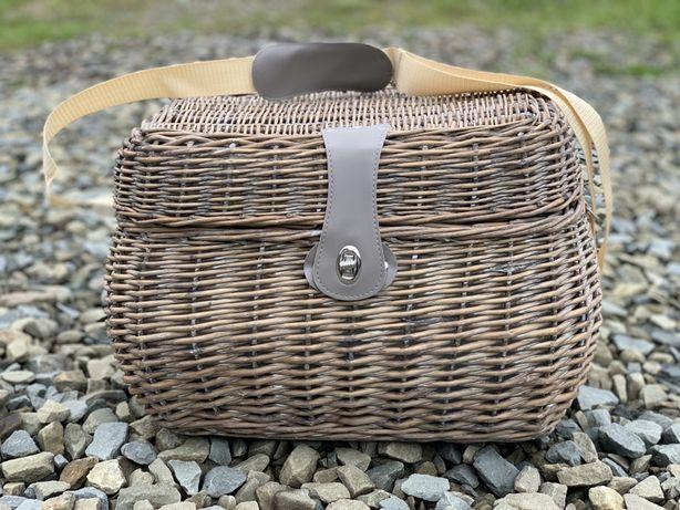Koszyk piknikowy wiklinowy termiczny