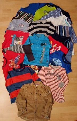 Mega duży zestaw używanych ubranek dla chłopca - 87 szt - roz. 98-104