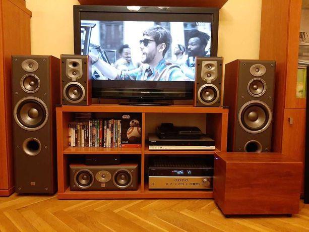 Kino Domowe Yamaha RX-V475 + 5.1 JBL i Jamo