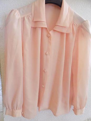 Bluzka damska z długim rękawem - zestaw 4 szt.