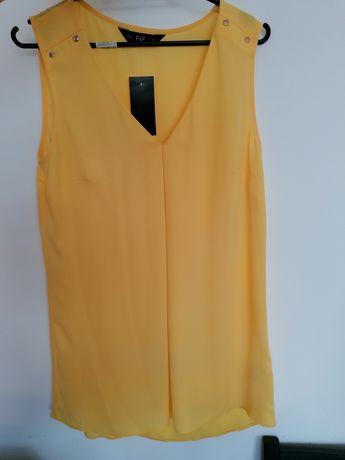 F&f żółta bluzka xs r. 34