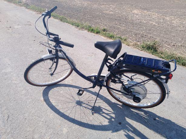 Rower Elektryczny Sachs (Wspomaganie elektryczne)