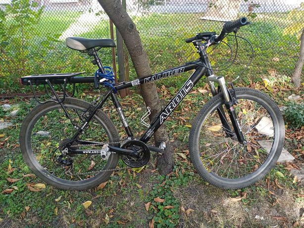 """Горный велосипед ARDIS KALIBER ECO MTB 26"""" алюминиевый, Черный"""