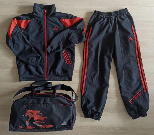 Adidas dres F50 (dziecięcy) + torba sportowa r. 9-10 lat / 140cm