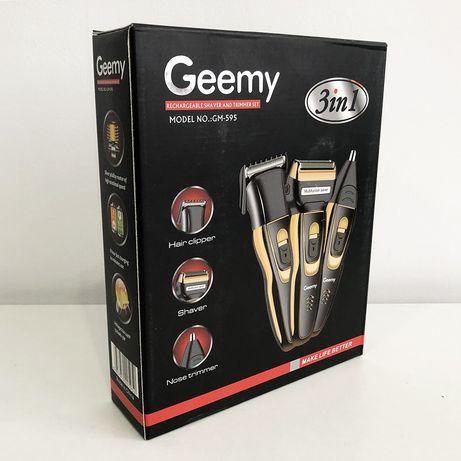 Электробритва сеточная и триммер для бороды GEMEI/Geemy GM-595