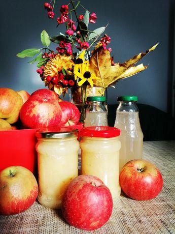 Dżemy i soki z jabłek