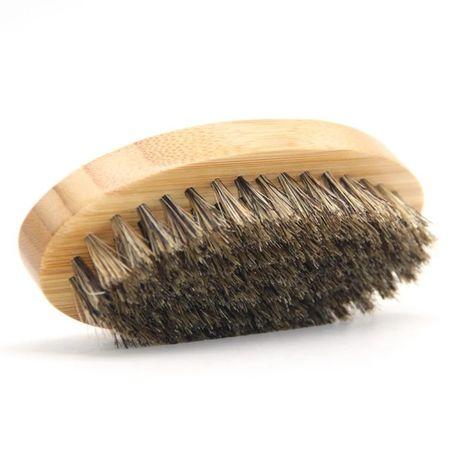 Szczotka do brody kartacz 100% naturalne włosie dzika prezent męska