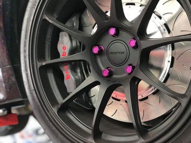 Felgi ROTA Titan 17x7.5 5x114.3 et45 Honda Civic Toyota Corolla Mazda