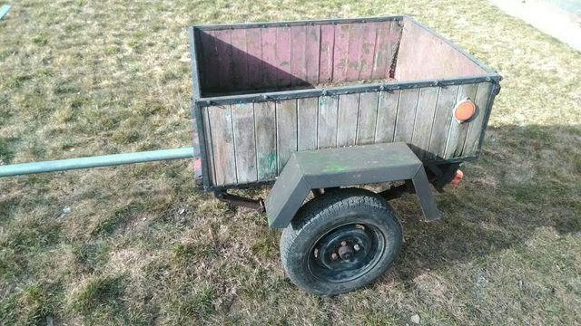 Przyczepka SAM do traktorka ~ kosiarki, quada.