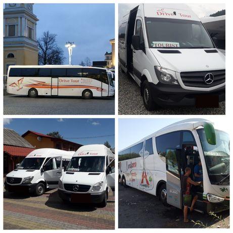 Пасажирські перевезення Україна,Європа. Замовлення /оренда автобуса