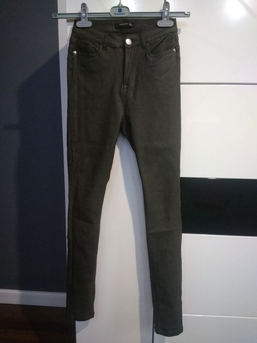Spodnie woskowane Reserved 36 Golice-Kolonia - image 1