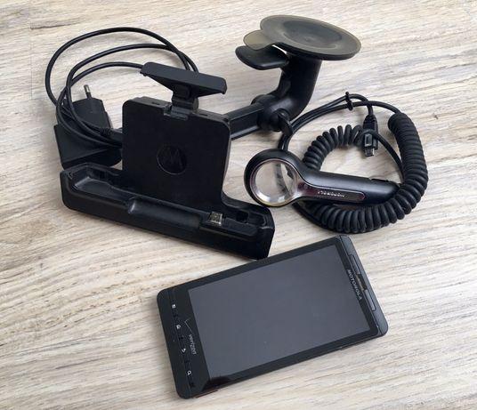 CDMA телефон Motorola Droid X MB810+автокомлект