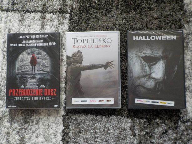 Zestaw horrorów dvd, nowka