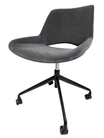 Fotel obrotowy / biurowy: Scorpio - Halmar - szary/popiel - NOWY
