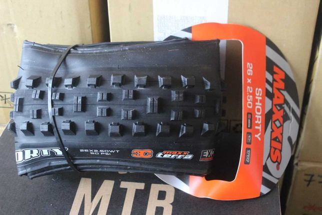 Покрышка Maxxis Shorty 27.5 / 26 EXO TR DH 3C. Велосипед Бутил
