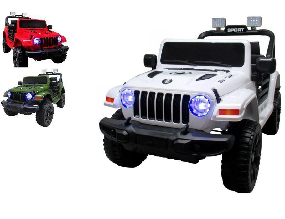 Auto na Akumulator Jeep RX10 Ekoskóra Amortyzatory Funkcja Bujania