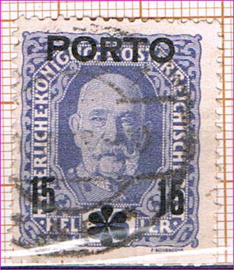 Znaczek Austria 1917