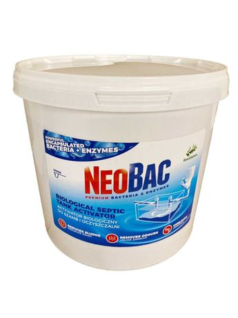 Суперсредство NEOBAC 5 кг НеоБак для септика/ямы, 200 порций на 4 года