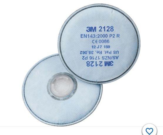 3M Filtry przeciwpyłowe 2128 50 kompletów w komplecie x2 sztuki