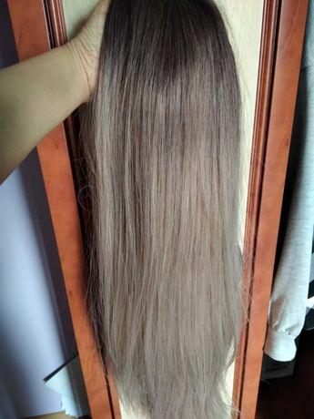Peruka blond długa