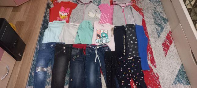 Большой пакет одежды для девочки