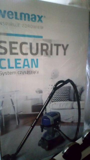System pioraco czyszczący Security Clean firmy Welmax