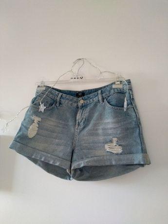 Jeansowe szorty F&F