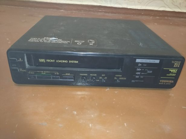 Продам видеомагнитофон TOSIBA (VHS).