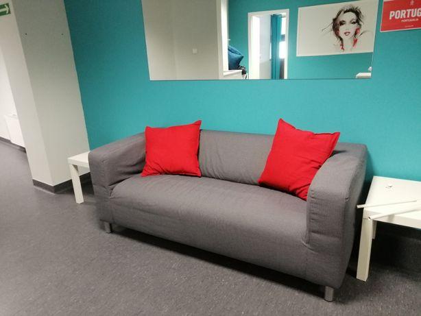 Sofa 2-osobowa Ikea Klippan szara