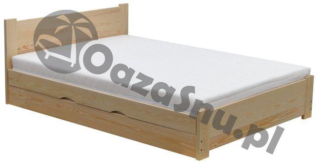 Łóżko ATENA 140x200 tapczan z otwieranym pojemnikiem dowolny wymiar