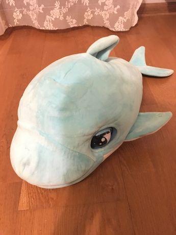 Interaktywny delfin blu blu reklama tv hit pluszowy dźwięk ruch
