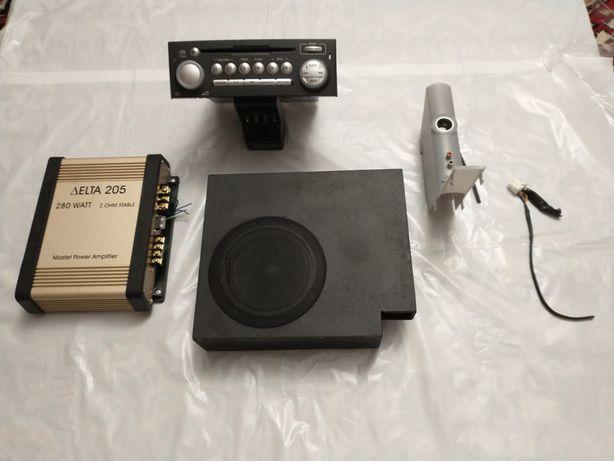 Audio zestaw ,radio Mitsubishi Colt CZ VI gen