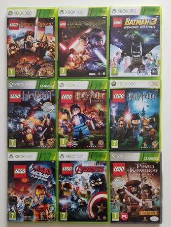 Gry Xbox 360 LEGO Batman Avengers Harry Potter Hobbit Przygoda Star